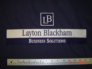 Layton Blackham tablecloth
