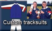 Custom tracksuits